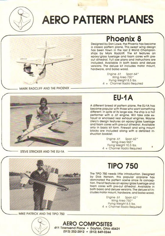 aero composites vintage print ad